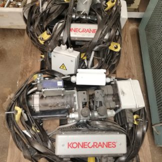 Polipasto de cadena Konecranes XN 60Kg de carga maxima.