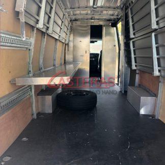 Estanterias plegables para furgoneta
