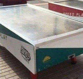 Recreativa mesa de aire hockey Speed Play 2. 260x126x85cm.