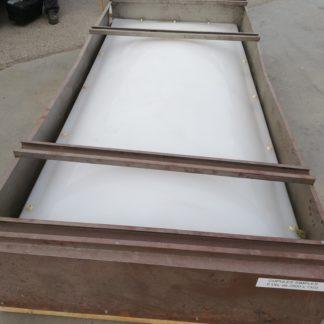 Cupulas de policarbonato para cubierta horizontal. 290x132cm