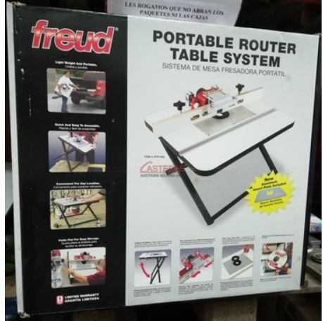 Mesa portátil para Fresadora (Nueva)